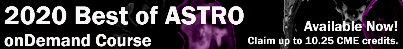 Best of ASTRO course banner
